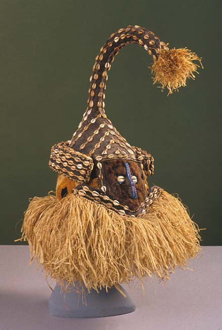 Central Africa kuba mask