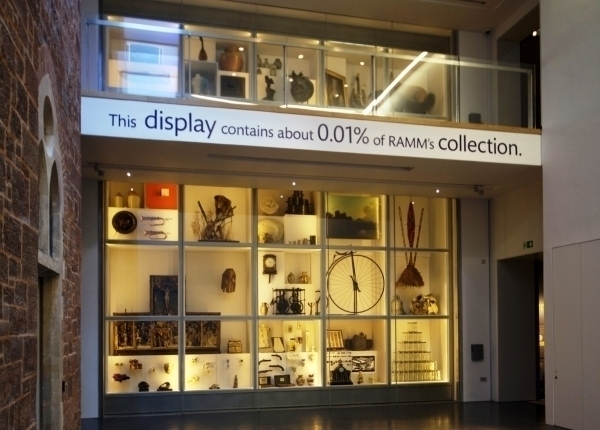 RAMM Courtyard display