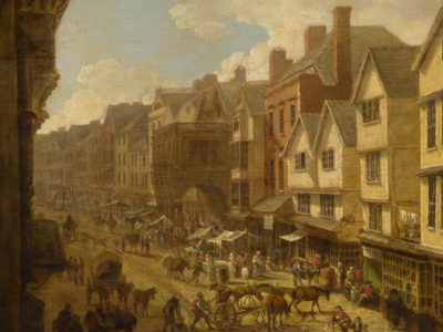 The High Street, Exeter in 1797