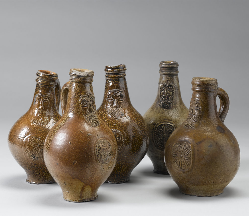 Tudor drinking jugs from Exeter