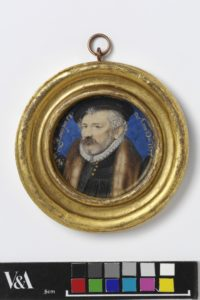 Portrait of Richard Hilliard by Nicholas Hilliard. © Victoria and Albert Museum, London