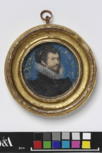 Self-Portrait Aged 30 by Nicholas Hilliard. © Victoria and Albert Museum, London