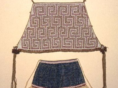 A beaded apron form the Amazon