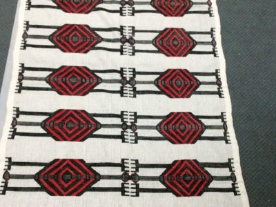 Igbo woven cloth from the village of Akwete