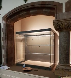 New display case in the World Cultures gallery