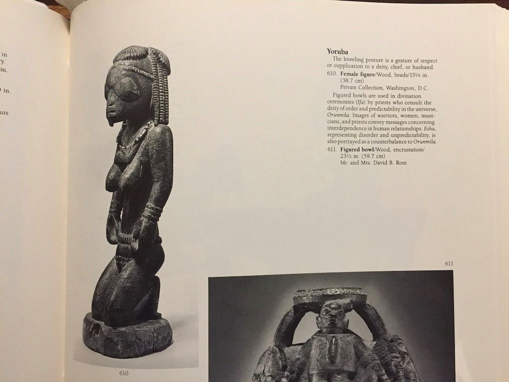 Second of the pair of Eshu figures