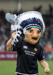 Exeter Chiefs mascot