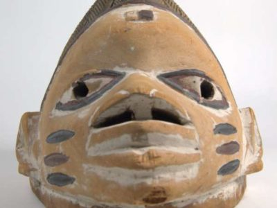 A Gelede mask form RAMM's collection