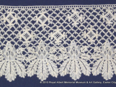 A piece of lacework from the collection