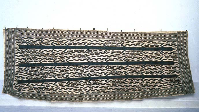 A piece of bark cloth form the collection