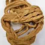 Partially braided palm fibre